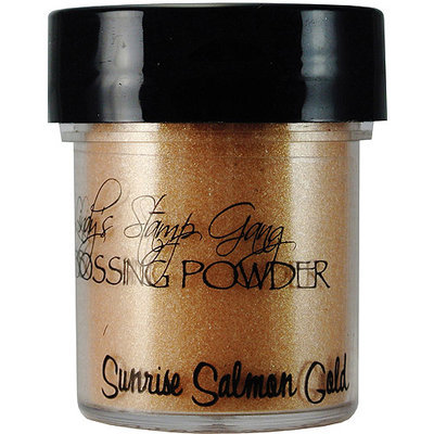 Lindy's Stamp Gang Lindys Stamp Gang LSG-EP-28 Lindys Stamp Gang 2-Tone Embossing Powder .5oz Jars-Sunrise Salmon Gold