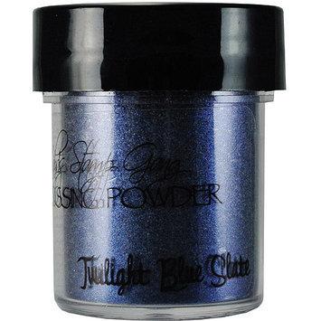 Lindy's Stamp Gang Lindys Stamp Gang LSG-EP-11 Lindys Stamp Gang 2-Tone Embossing Powder .5oz Jars-Twilight Blue Slate