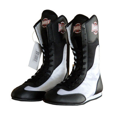 Amber Sporting Goods FightMaxxe v1.0 Full Height Boxing Shoes Size 7