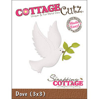 CottageCutz Die 3 X3 -Dove Made Easy