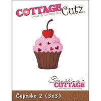 CottageCutz Die 3 X3 -Cupcake