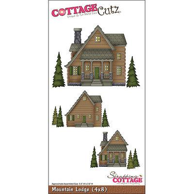 CottageCutz Die 4 X8 -Mountain Lodge