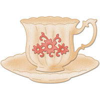 CottageCutz Die 3X3-Small Teacup Made Easy