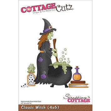 CottageCutz 4X6141 CottageCutz Die -Elegant Christmas Bell