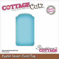 CottageCutz Die-Eyelet Insert Card/Tag Made Easy