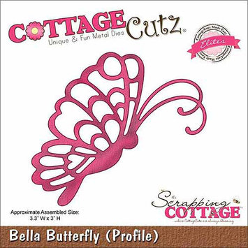 CottageCutz CCE002 CottageCutz Elites Die -Bella Floral Frame