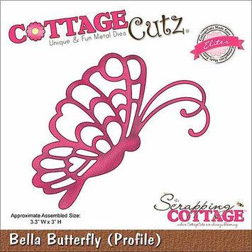 CottageCutz Elites Die-Fancy Bella Butterfly
