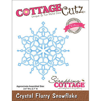 CottageCutz CCE033 CottageCutz Elites Die -Crystal Flurry Snowflake