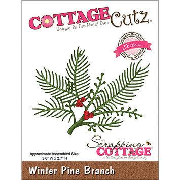 CottageCutz CCE045 Elites Die-Winter Pine Branch