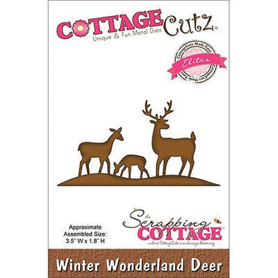 CottageCutz CCE049 Elites Die-Winter Wonderland Deer