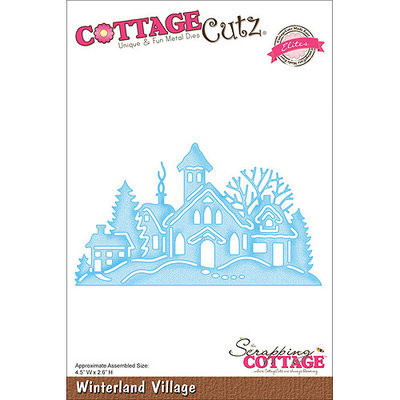 CottageCutz CCE054 Elites Die-Winterland Village