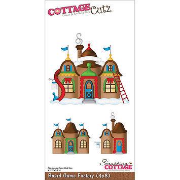 CottageCutz 4X8015 CottageCutz Die 4X8-Board Game Factory
