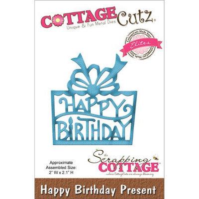 CottageCutz Elites Die-Happy Birthday Present