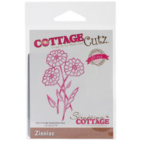 CottageCutz Elites Die-Zinnias