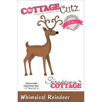CottageCutz Elites Die -Whimsical Reindeer