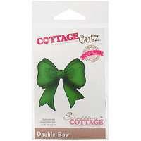 CottageCutz Elites Die-Double Bow