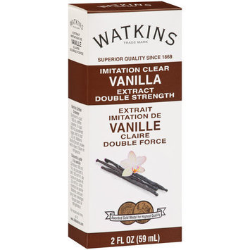 Watkins Imitation Clear Vanilla Extract, 2 fl oz