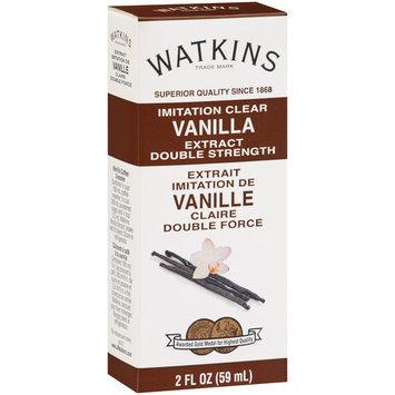 Watkins Imitation Clear Vanilla Extract, 2 fl oz