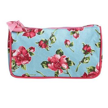 Jessie Steele 904-JS-250S Pink Magnolias Generous Cosmetic Bag Pack Of 2