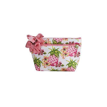 Jessie Steele 903-JS-249S Pink Pineapples Petite Cosmetic Bag Pack Of 2