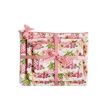 Jessie Steele 906-JS-249S Pink Pineapplesl 3 Piece Gift Set Pack Of 2