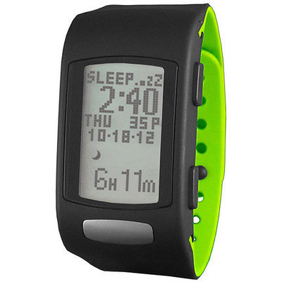 LifeTrak C210 Core 24-Hour Tracker (Black/Lime)