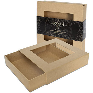 Graphic 45 Altered Art Matchbook Box, 8