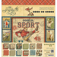 Graphic Good Ol' Sport Double-Sided Paper Pad 8