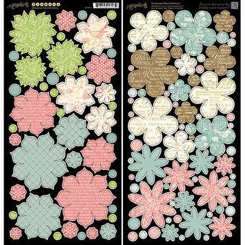 Graphic Botanical Tea Cardstock Die-Cuts 6