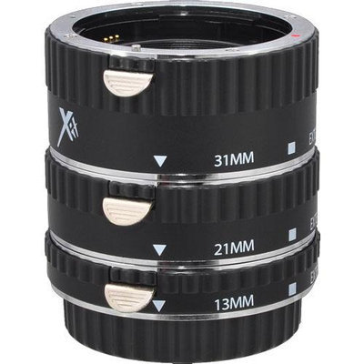 Xit Pro Series AF Macro Extension Tube Set (for Canon EOS Cameras)