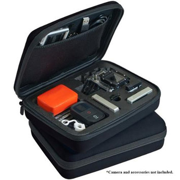 Xit Premium Custom Case with Removable Foam for GoPro Cameras - Medium