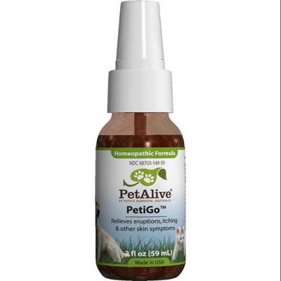 Tive Remedies PetAlive Petigo Homeopathic Formula 2 oz Spray