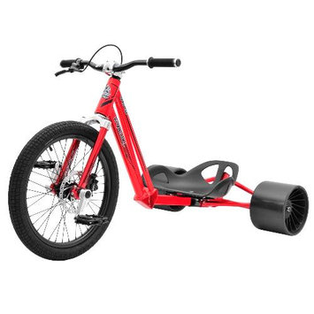 Bike Rassine HK-PRO-RD Hillkicker Drift Trike For Adults - Red