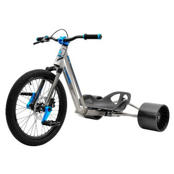 Bike Rassine HK-PRO-BK Hillkicker Drift Trike For Adults - Black