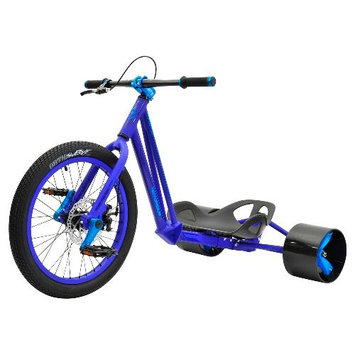 Triad Notorious 2 Drift Trike Bike Frame Color: Blue/Blue