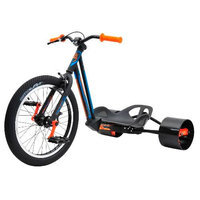 Bike Rassine HK-JR-YL Hillkicker Big Wheel Tricycle For Kids, 8 Year And Older - Yellow