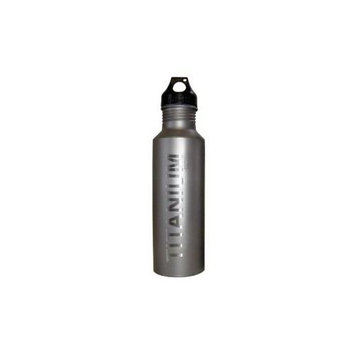 Vargo T-408 Titanium Water Bottle 650 Blk