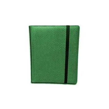 Legion Supplies BN9DHG Binder 9 Pocket Elder Dragon Hide Green