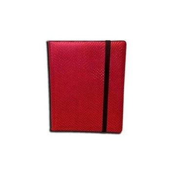 Legion Supplies BN9DHR Binder 9 Pocket Elder Dragon Hide Red