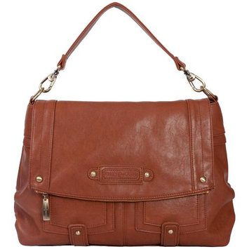 Kelly Moore Songbird Shoulder Bag, Saddle (Brown) - Holds DSLR, Netbook & More