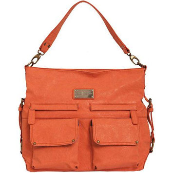 Kelly Moore 2 Sues Camera/Tablet Bag with Shoulder & Messenger Strap (Orange Sherbet) includes Removable Padded Basket