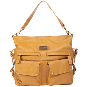 Kelly Moore 2 Sues Camera/Tablet Bag with Shoulder & Messenger Strap (Mustard)