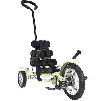 Asa Products Mobo Mega Mini (Green): The Roll-to-Ride Three Wheeled Cruiser 12