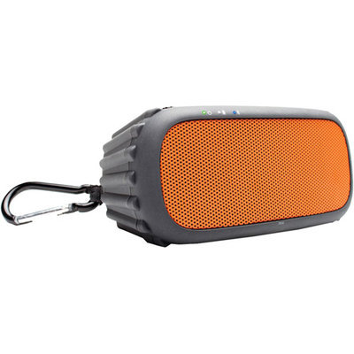 Ecoxgear Ecorox Ipx7 Waterproof Bluetooth Portable Audio System System, Orange