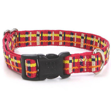 Waggo Playful Plaid Collar Size: Large (1