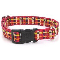 Waggo Playful Plaid Collar Size: Small (0.5