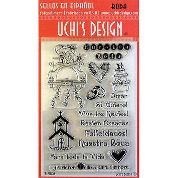 NOTM307331 - Uchi's Design Spanish Clear Stamp Set 4