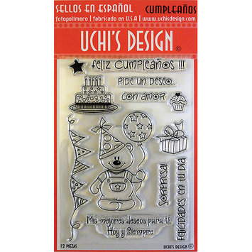 NOTM307332 - Uchi's Design Spanish Clear Stamp Set 4