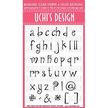 Uchi's Design Bilingual Clear Stamp Set 4