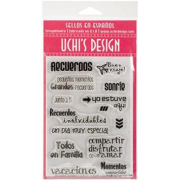 Uchi's Design Spanish Clear Stamp Set 4